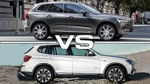 BMW 3 Series xc60 vs bmw x3 : 2017 Volvo XC60 vs 2016 BMW X3 - YouTube