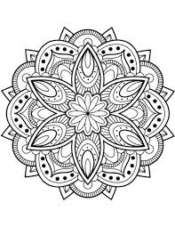 Henna Coloring Pages Pin Free Printable Mandala Coloring Pages Adult