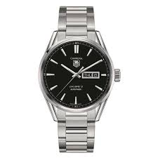 tag heuer carrera watches beaverbrooks the jewellers tag heuer carrera day date automatic men s watch