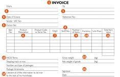 Sales Invoice Template Ireland Madridistasdegalicia
