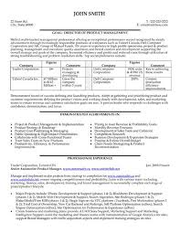... product manager resume sample ...