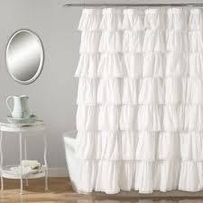 white lace shower curtain. Lush Décor 72-Inch X Shower Curtain In White Lace I