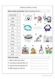 Free Printable Weather Worksheets Free Worksheets Library ...