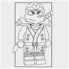 Ninjago Cole Coloring Pages Good Lego Colouring Page Jay