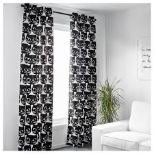 Interesting Black And White Curtains F For Inspiration Decorating