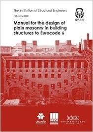Small Picture Manual for the design of plain masonry in building structures to