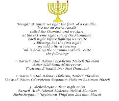 Prayer For Lighting The Menorah Candles Hanukah Prayers First Night We Say 3 Blessings Happy