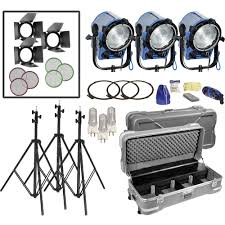 Buy Arri Light Kit Arri T1 Fresnel 1000w 3 Light Kit 120 Vac