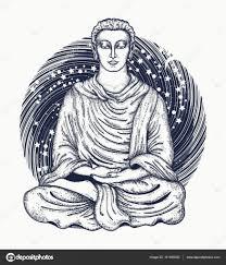 искусство татуировки будда пространства религиозный символ гармонии