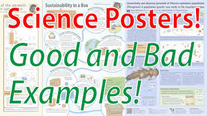 Science Research Posters Scientific Poster Design Good And Bad Examples Poster Tutorial