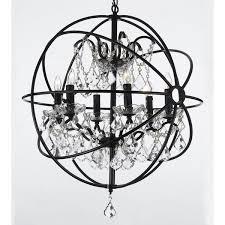 10 best ideas of orb chandelier