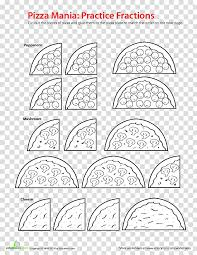 Pizza Mania Size Chart Fraction Transparent Background Png Cliparts Free Download
