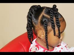 toddler natural hair two strand twist