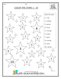 Small Picture colouring worksheets for kids math worksheet numbers 1 10