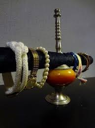 diy industrial bracelet holder via s
