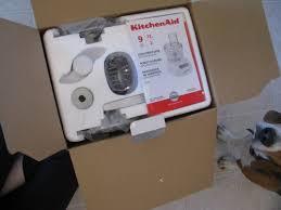 kitchenaid 9 cup food processor blade disc storage case. kitchenaid food processor box instructions 9 cup blade disc storage case
