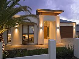 image of small modern house designs and floor plans lighting