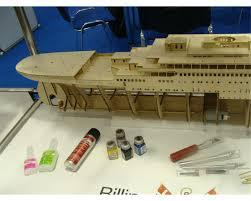 billing boats b510 rms titanic model boat fittings