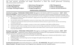 Resume Buzzwords Resume Sample For Project Manager Cv Template Management Image 79