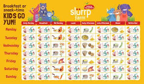 3 Months Baby Food Chart 6 Months Baby Food Chart For Indian Infant Slurrp Farm