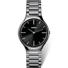 men s rado r27955152 watch official uk store francis gaye rado men s true thinline ceramic watch r27955152