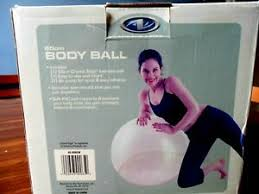 Pilates Wall Chart Details About New Athletic Works 65cm Crystal Edge Exercise Body Ball Wall Chart Air Pump Nib