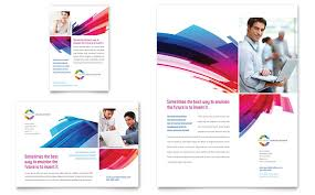 Brochure Templates Design Software Software Solutions Flyer Ad ...