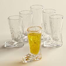 boot shot glass set upc 704572514742 image for circleware kick back 6 piece shot glass set upcitemdb