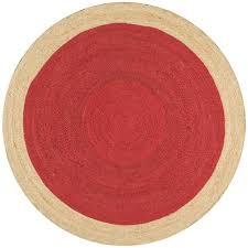 nuloom eleonora red 8 ft x 8 ft round area rug