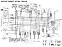 xs chopper wiring diagrams 1981 xs650 stock wiring diagram edited by 650motorcycles com