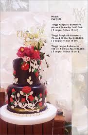 Gallery Koleksi Wedding Cake Dari Pelangi Cake Jakarta