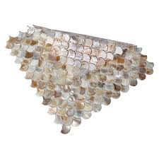 a close look of natural fan shaped fish scale mosaic tile even though this is a fan shaped fish scale mosaic tile it offers the image of nature that