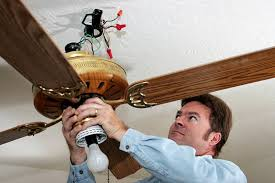 how to install a ceiling fan 5 places not to install one