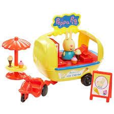Игрушка <b>Кафе</b>-<b>мороженое Ребекки</b> (<b>Peppa Pig</b>) 30628 | Детский ...