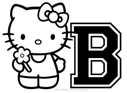 Big Coloring Pages Of Hello Kitty Large Hello Kitty Coloring