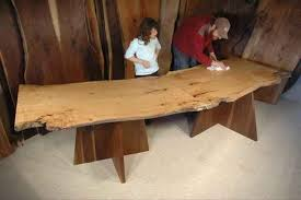 modular dining room furniture. modular 2 piece maple slab custom made dining room table furniture s