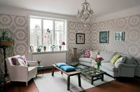 Tapeten - Choose the appropriate color for the living room wallpaper