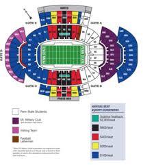 Beaver Stadium Seating Chart Penn State Nittany Lions Football Beaver Stadium Soccer
