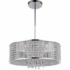 full size of living cute crystal pendant chandelier 3 0001926 22 cristallo modern round polished chrome