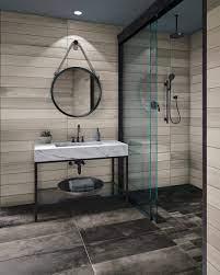 Pristine Wood Look Tile Bathroom Wall Why Tile