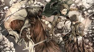 Free download latest collection of attack on titan wallpapers and backgrounds. Attack On Titan Eren Yeager And Levi Ackerman Uhd 4k Wallpaper Pixelz Cc
