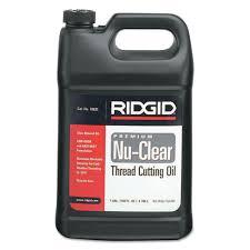 Ridgid Nu Clear Thread Cutting Oil 1 Gallon 632 70835