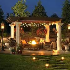 outdoor pergola lighting ideas. Pergola Lighting Ideas Outdoor Remarkable Hanging And Best Gazebo On With N