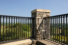 wrought iron fence brick. Build Wrought Iron Fences Fence Brick