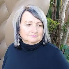 silver hair transformation