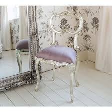 Silver Bedroom Chair Sylvia Silver And Lilac Silk Seat Lilacs Ravenclaw And French
