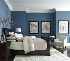 master bedroom ideas. Blue Master Bedroom Decorating Ideas Beige Bed Mirrored Nightstands Transitional .