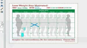 Weight Loss Calendar Weight Loss Goal Calendar Day 1 Reach Your Weight Loss Goals