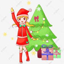 คริสต์มาส ของขวัญวันคริสต์มาส สุขสันต์วันคริสต์มาส ซานตาคลอส, ระฆัง,  มือวาดคริสมาสต์, กวางชนิดใหญ่ภาพ PNG และ PSD สำหรับดาวน์โหลดฟรี
