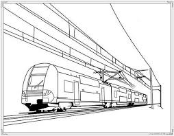 Train coloring pages are available in a wide range of varieties including cartoon train coloring pages and realistic train coloring sheets. Electric Train Coloring Pages Coloring4free Coloring4free Com